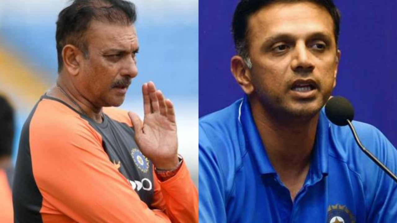 IND VS AUS: Ravi Shastri trolls after embarrassing defeat, fans say - Dravid becomes coach