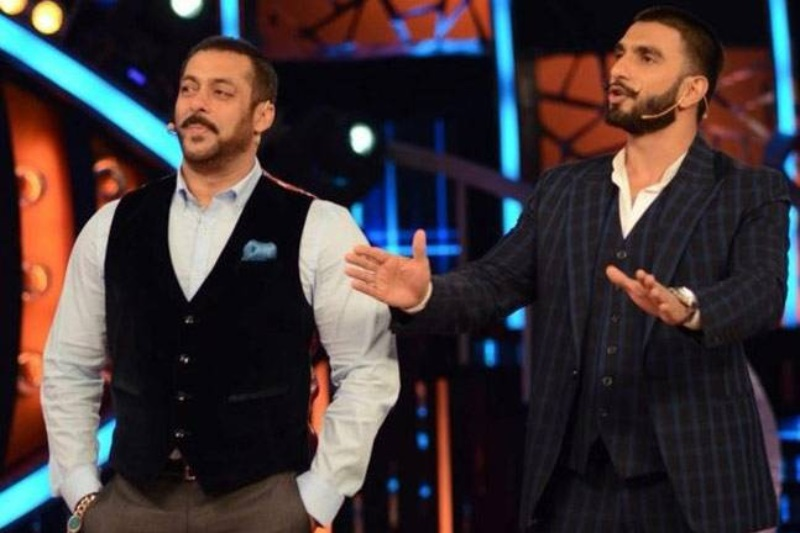 Salman Khan mocks Ranveer Singh