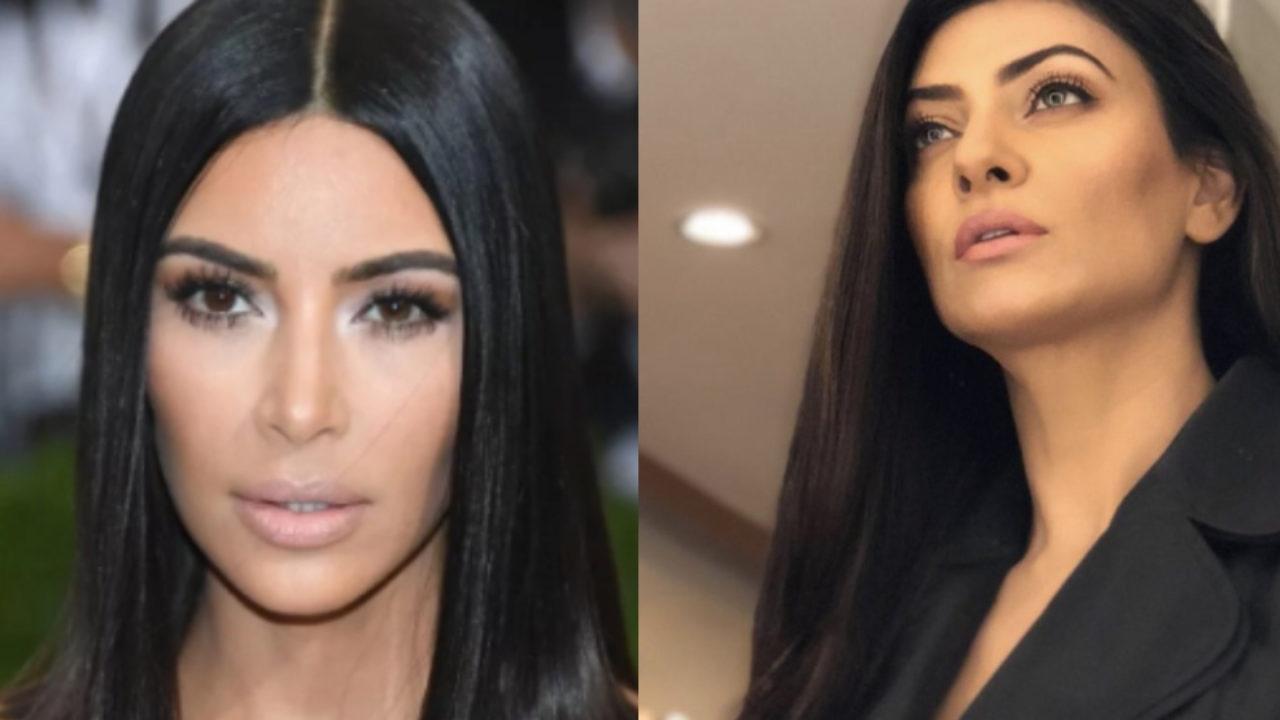 Sushmita Sen Compared To Kardashian Sister Fans Call It Plastic Surgery
