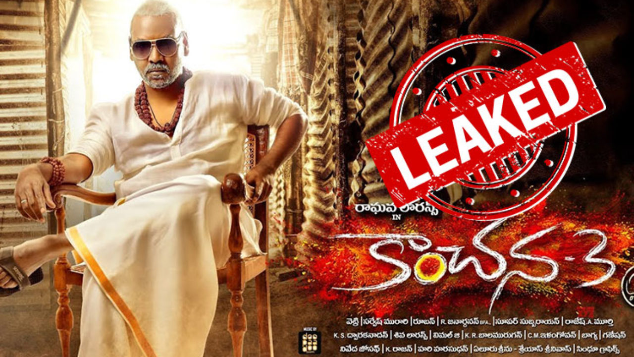 Kanchana 3 Tamil Full Movie Leaked Online To Download By