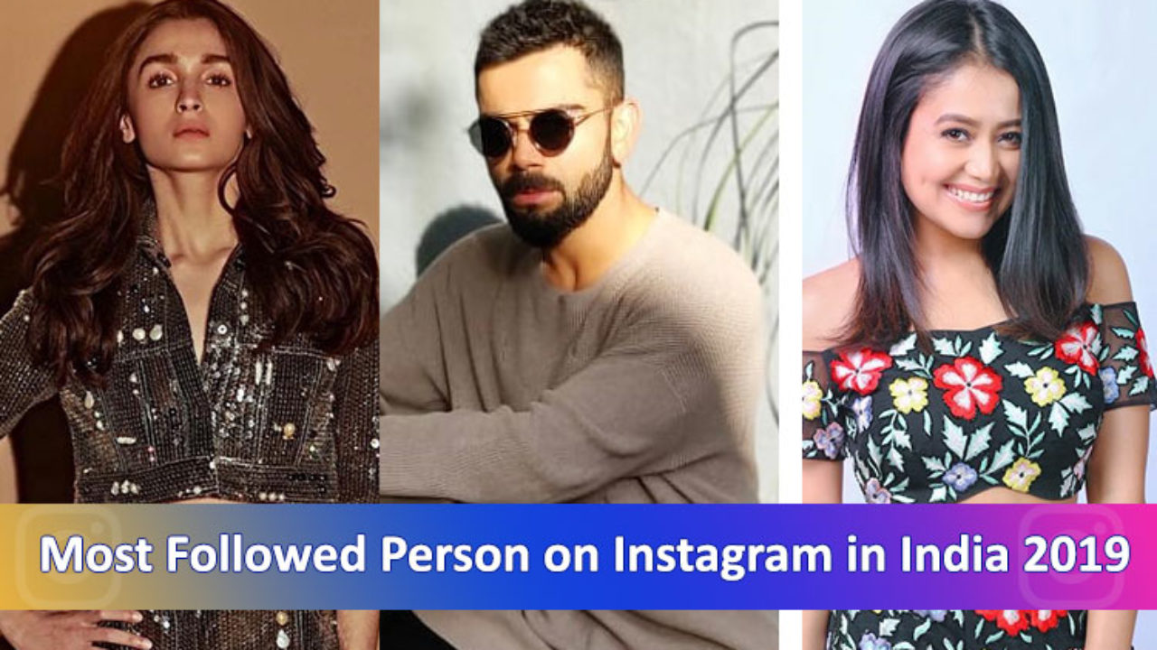 top 3 instagram followers in india Top 11 Most Followed Indian Celebrities On Instagram February 2020