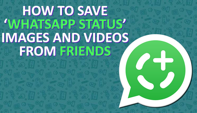 How To Download Whatsapp Status Images Videos Of Your Friends