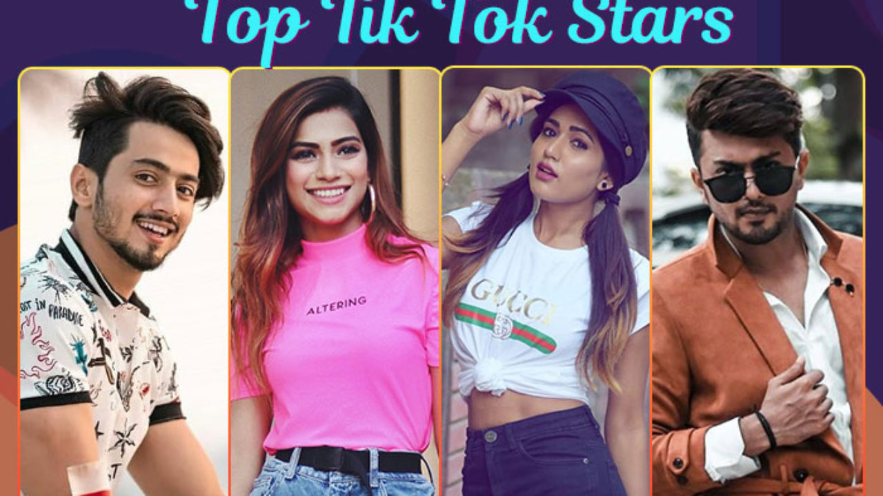 Top Indian Tiktok Stars List Of Most Popular Celebs On Tiktok In 2020