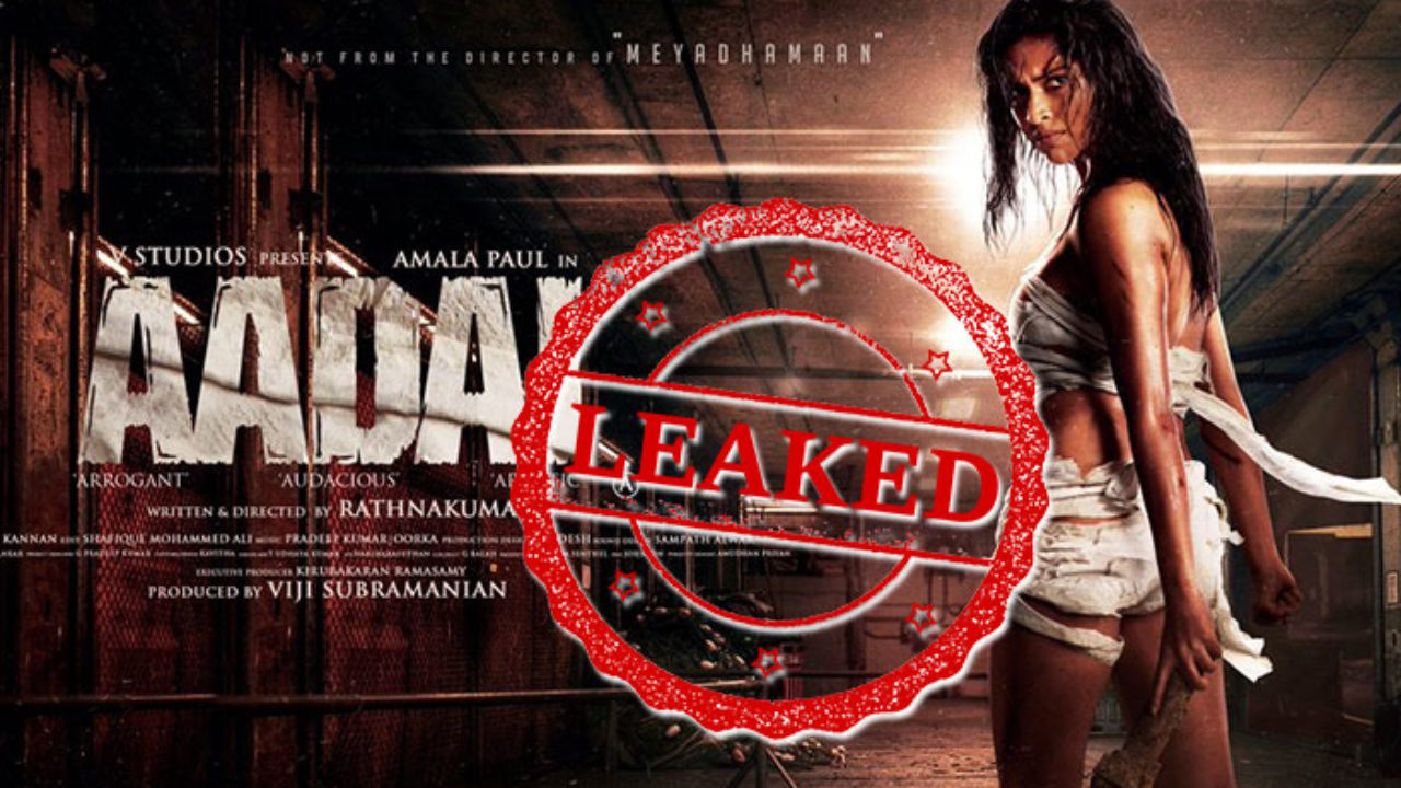 Tamilrockers 2019: Aadai Tamil Full HD Movie Leaked Online