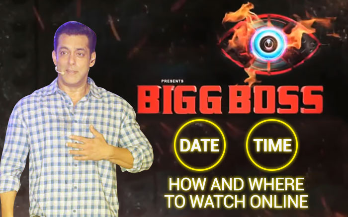Bigg Boss 13 Date Timing How And Where To Watch On Tv