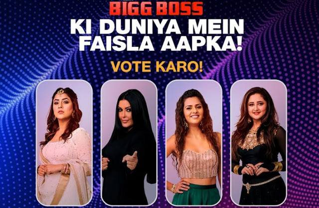Bigg Boss 13 Vote Who Will Be Evicted This Week How To
