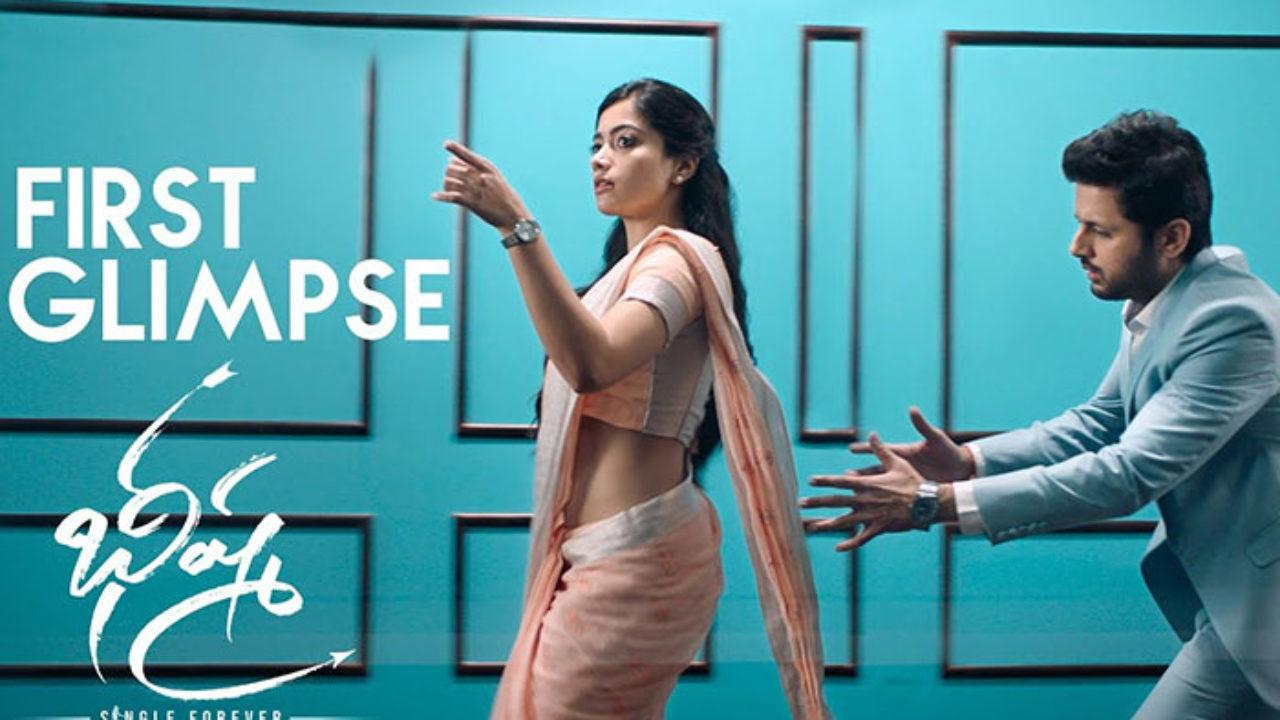 Bheeshma Teaser Nithin Is Intoxicated With Rashmika Mandanna S Beauty