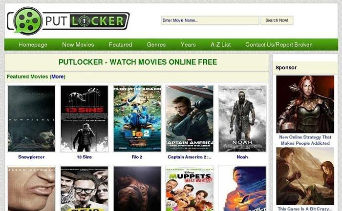 Watch Movies Online Putlockers