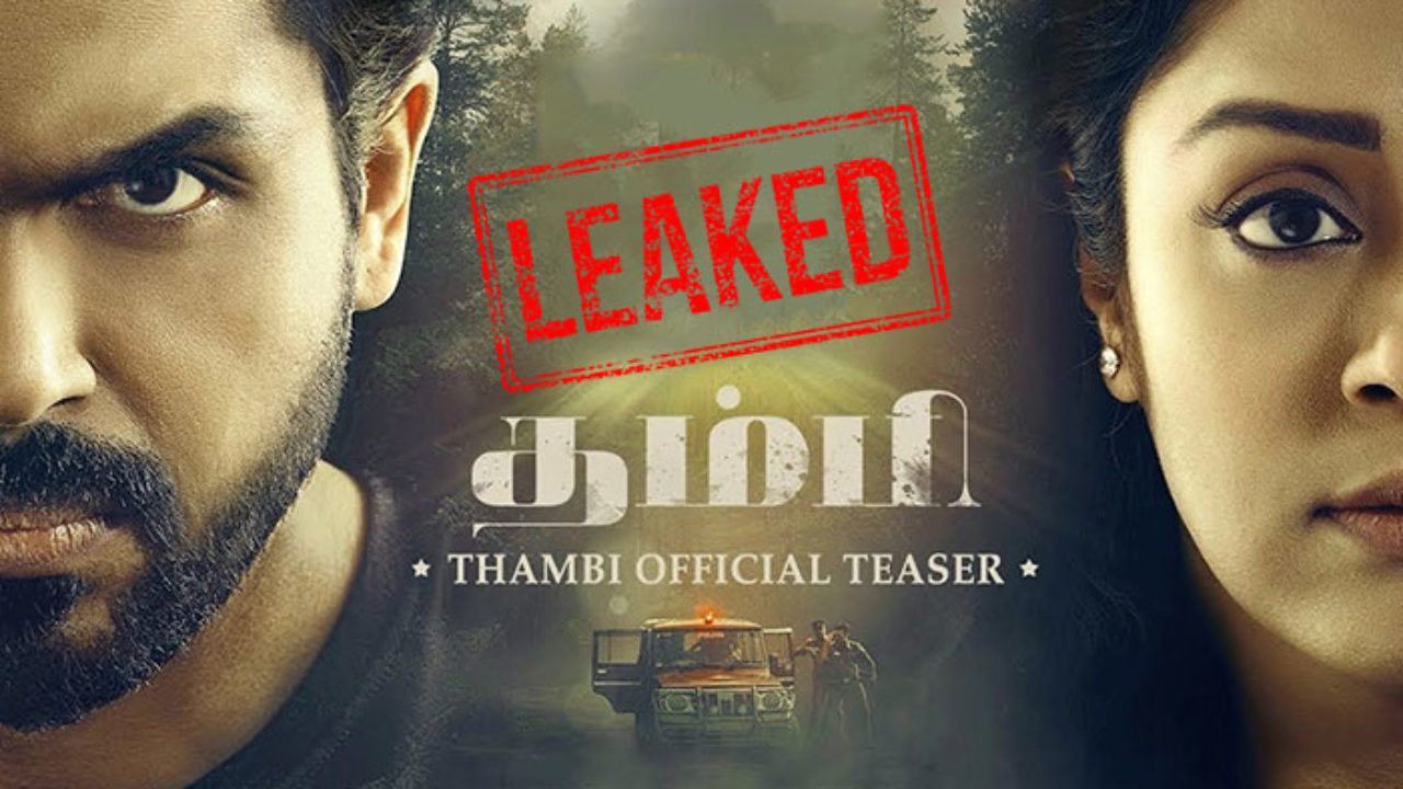 Tamil Thambi Full Hd Movie Leaked Online To Download By Tamilrockers