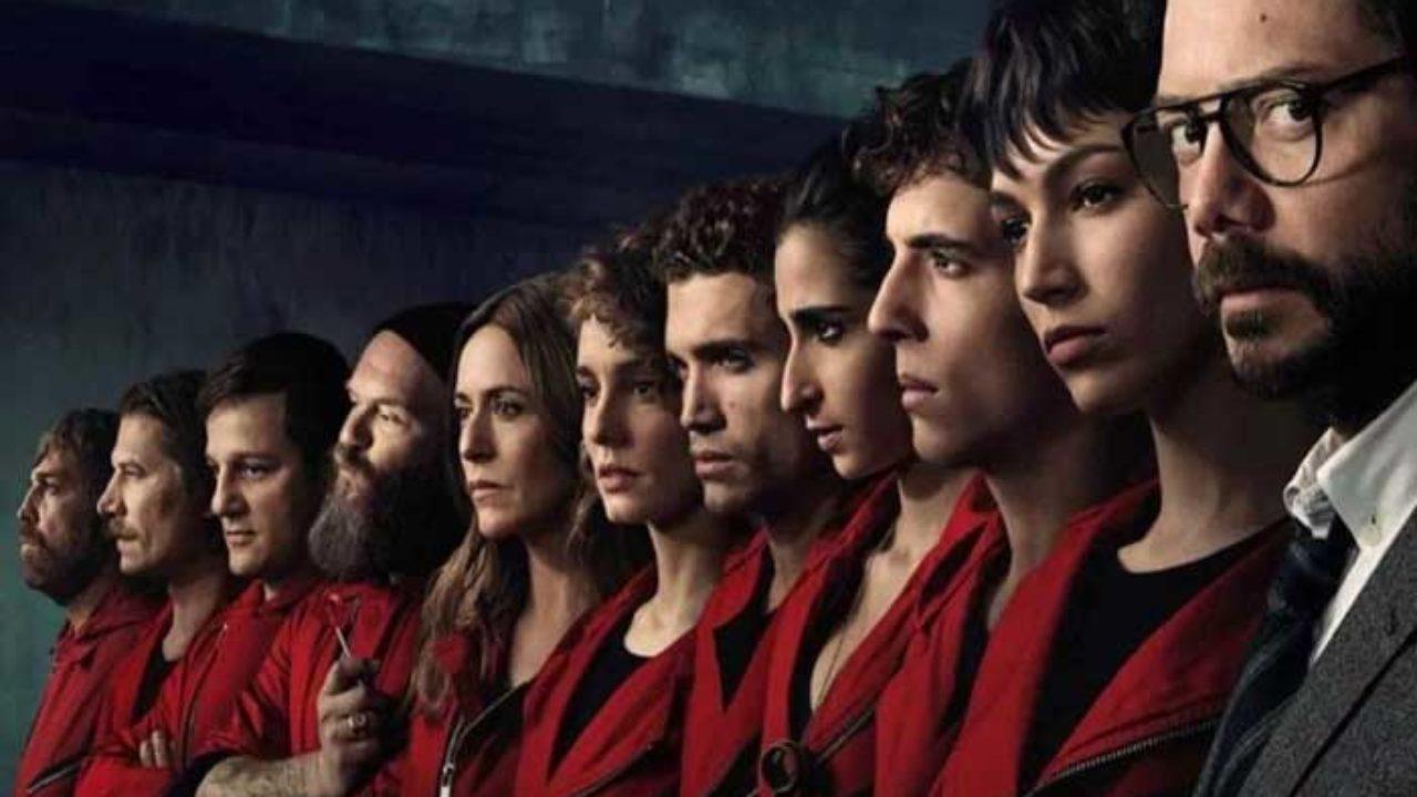 Money Heist Season 4 - Complete Star Cast