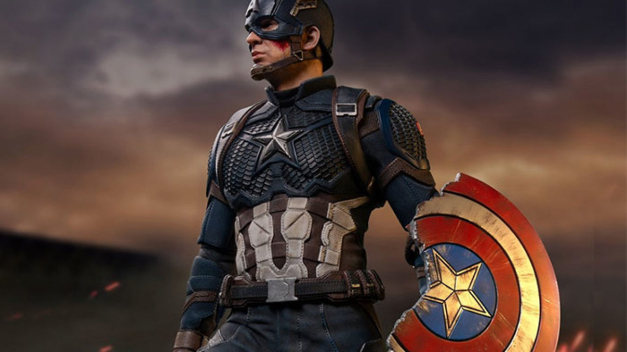 Captain America With Broker Shield