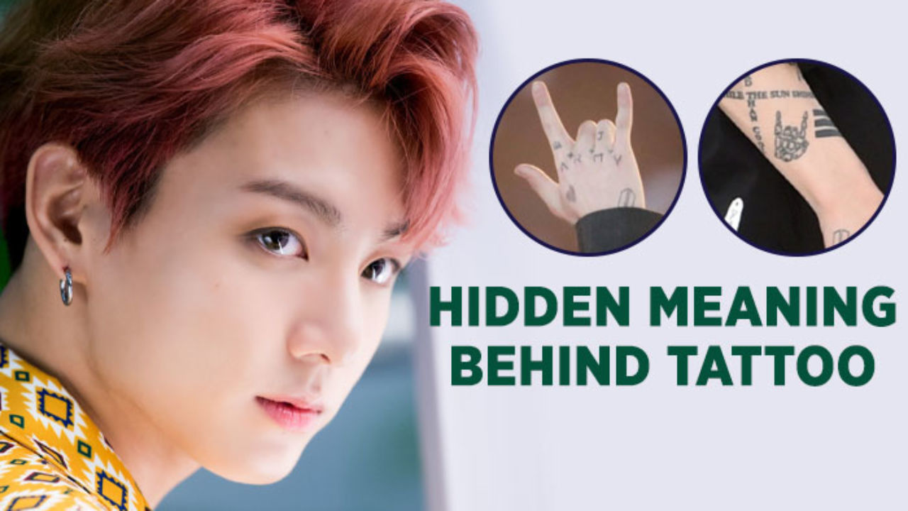 Bts Maknae Jungkook S Tattoo And Hidden Meaning Here S What Makes Is So Special For Army